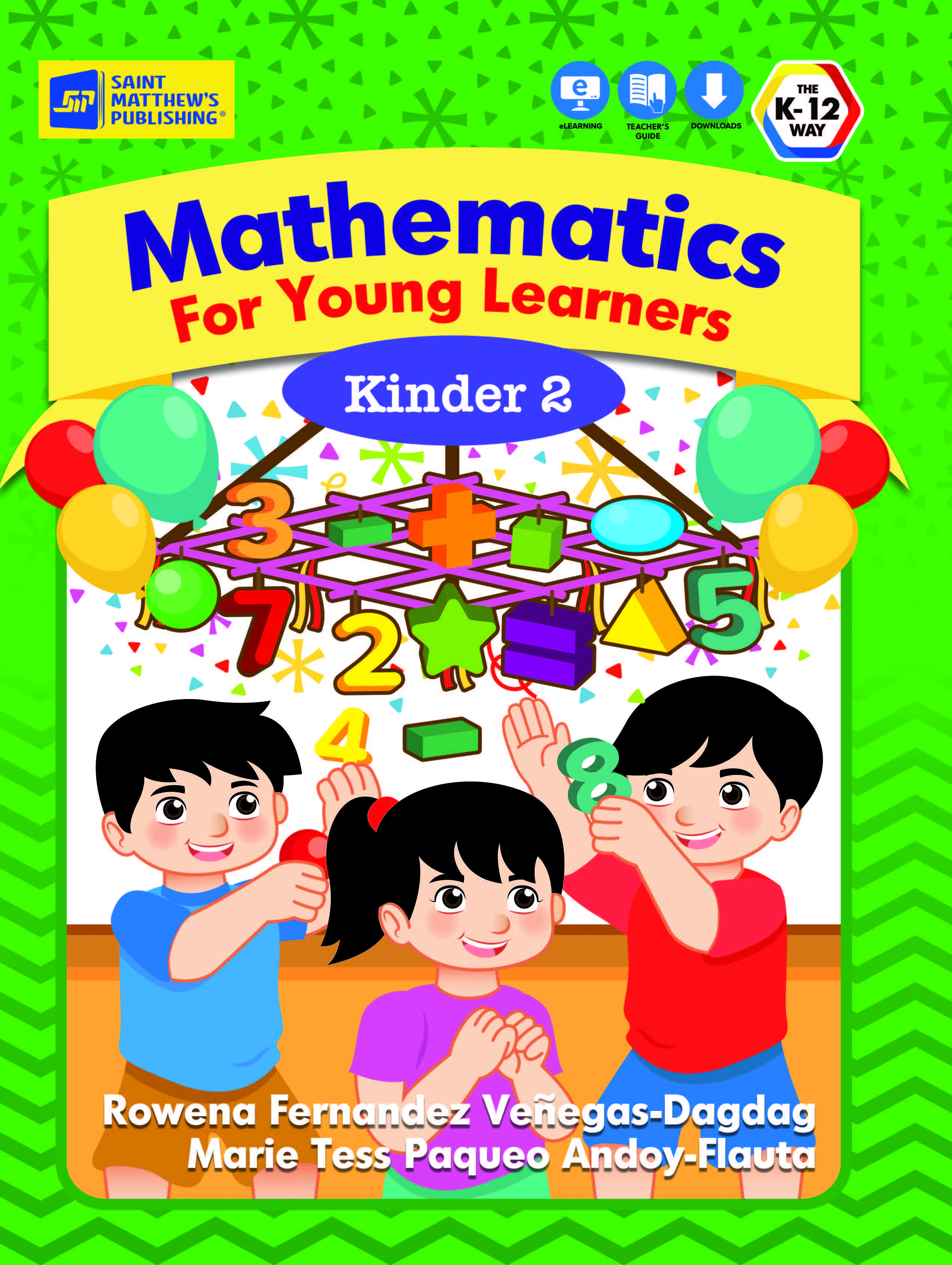 Mathematics For Young Learners Kinder 2 – St  Matthew's